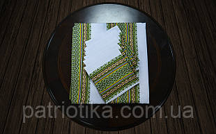 Набор столовый зеленый | Набір столовий зелений 120х140