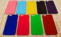 Чехол накладка бампер для iPhone 6 / 6S (9 цветов)
