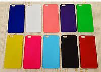 Чехол накладка бампер для iPhone 6 Plus / 6S Plus (10 цветов)