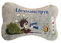 Автомобильная подушка  подголовник Бабочка