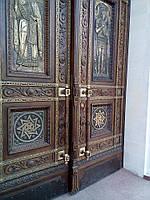 Двери в храм. Художественное литье, фото 1