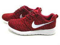 Кроссовки мужские Nike Roshe 2 Yeeze.красные беговые кроссовки