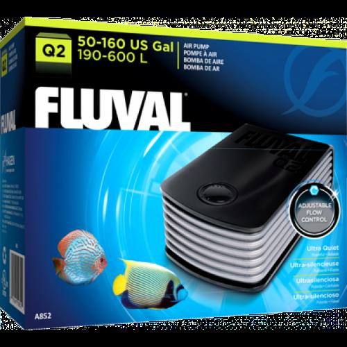 Hagen Fluval Q2 A852, бесшумный компрессор для аквариума, фото 2