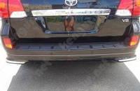 Докладка заднего бампера Toyota Land Cruiser 200
