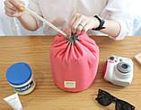 Органайзер для косметики на затягуванні 3 в 1(Бузковий), фото 10