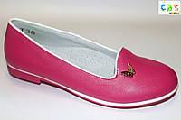 Нарядная обувь оптом. Туфли для девочек от фирмы CBT.T T36-2 (32-37)
