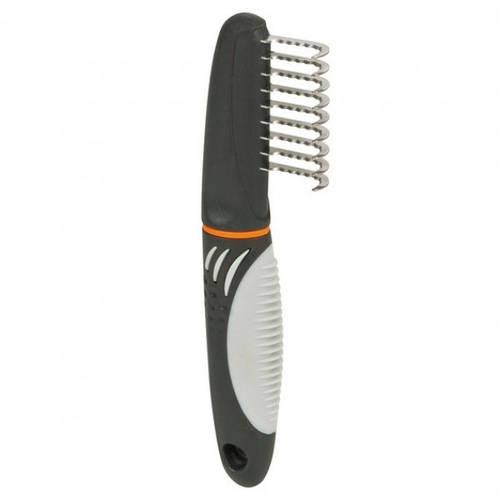 Trixie Колтунорез Trixie De-matting Comb длинный зуб, фото 2