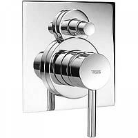 Смеситель для ванны скрытого монтажа Tres Max 162180