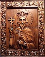 Икона резная Константина Великого, фото 1