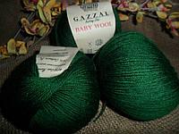 Gazzal Baby wool (Газзал беби Вул) 814  бутылочный