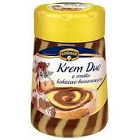 Шоколадне масло Kruger Krem Duo Банан 400 гр