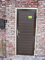 Калитка в фасаде Алютех 900х2125