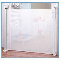 Барьерка Caretero для двери текстильная (white) 90см  - 16467