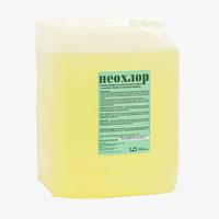 Жидкое, концентрированное, щелочное дезинфекционное средство Неохлор 5 л. (УНВЦПД)