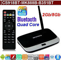 CS918-MK888-B351-Q7 Andoid TV Box RK3188 QuadCore 2GB/8GB оригинал,Wi-Fi,BT,LAN, с мод. прош.