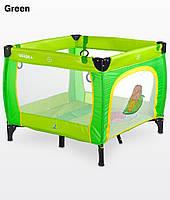 Манеж Caretero Quadra - green - 14339