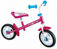 "Беговел STAMP Barbie 10"" pink-white - 14554"