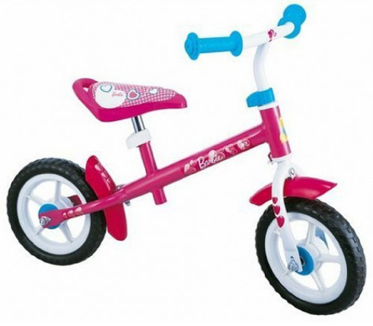 "Беговел STAMP Barbie 10"" pink-white - 14554 - BGToys в Одессе"