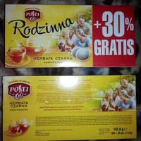 Чай чорний Podzinna Posti 80 пак