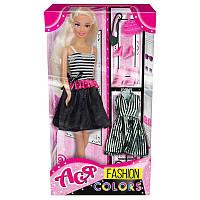 Кукла Ася Модные цвета; 28 см; блондинка; вариант 2