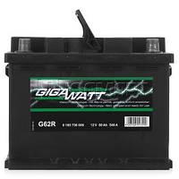 Автомобильный Аккумулятор GigaWatt 56 Ач (Гигават)