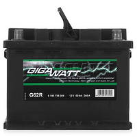 Автомобільний Акумулятор GigaWatt 56 Ач (Гигават)