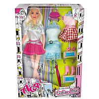 Кукла Ася Модный микс; 28 см; блондинка; вариант 2