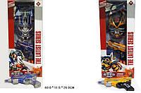 Игровой набор 8823AB 16шт2Трансформеры2 вида, пистолет,маска,в коробке 6011,526см