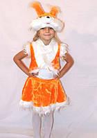 Дитячий новорічний карнавальний костюм білочки
