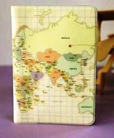Обложки на паспорт,карта мира, Южная Корея