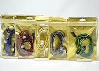 Вакуумная гарнитура S7 тканевый провод