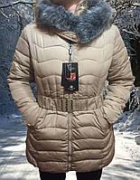Женский теплый пуховки на зиму, фото 1