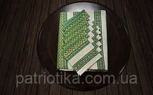 Набір столовий зелений | Набір столовий зелений 190х140