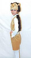 Дитячий новорічний карнавальний костюм їжачка