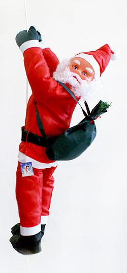 Фигура Деда Мороза (Санта Клауса) 90 см на веревке