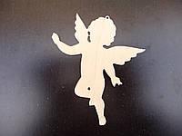 Ангелочек №1, игрушка из дерева, 10 см
