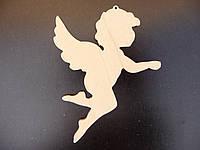Ангелочек №5, игрушка из дерева, 10 см