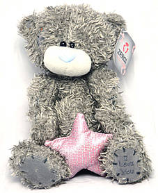 Мишка Тедди со звездой 20 см 21-Т