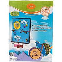 Набір шиємо папку-пенал з фетру Прабу Літаючі Звірі
