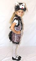 Дитячий новорічний карнавальний костюм котика