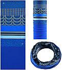 Зимняя мультиповязка (горловик) с флисом RockBros ZRTJ-5338 синий орнамент