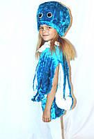 Детский новогодний карнавальный   костюм осьминога, фото 1
