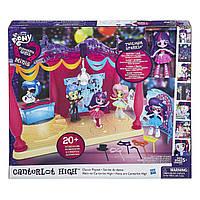 "Equestria Girls Игровой набор мини-кукол ""В школе"" - B6475"