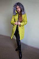 Теплая зимняя курточка для девушки , фото 1
