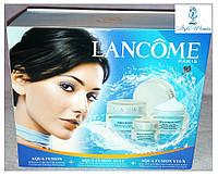 Подарунковий набір кремів для догляду за обличчям Lancome Aqua Fusion, фото 1
