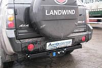 Прицепное устройство (Фаркоп) со съемным крюком GMC LANDWIND X6  2005+ г.в.