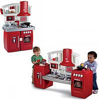 Раздвижная детская интерактивная кухня Little Tikes 626012 красная