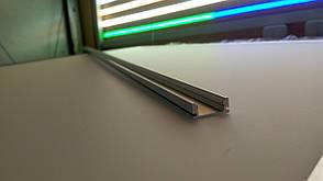 Алюминиевый профиль для светодиодной ленты накладной LL № 15 (1 метр)