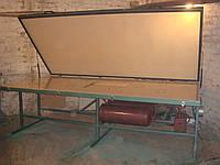 Мембранно-вакуумный пресс для шпонирования фанерования без обогрева мембрана силикон