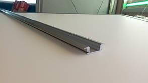 Алюминиевый профиль для светодиодной ленты врезной LL № 16 (1 метр)